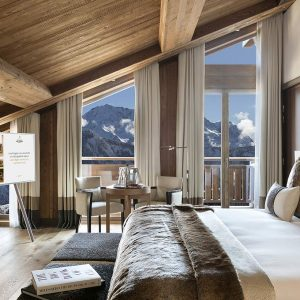 New Hotel Barrière in Courchevel 1850- Hotel Les Neiges,ski-in-ski out to the 3 Vallées