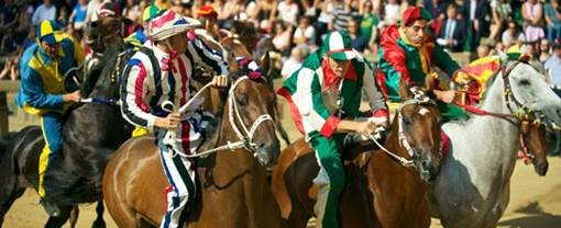 The thrilling days of the Palio