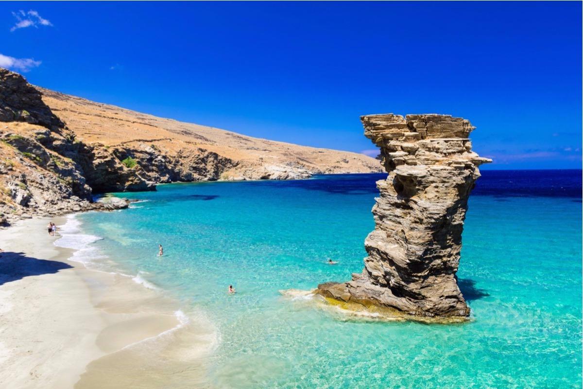 Descoperiti Insula Andros Grecia