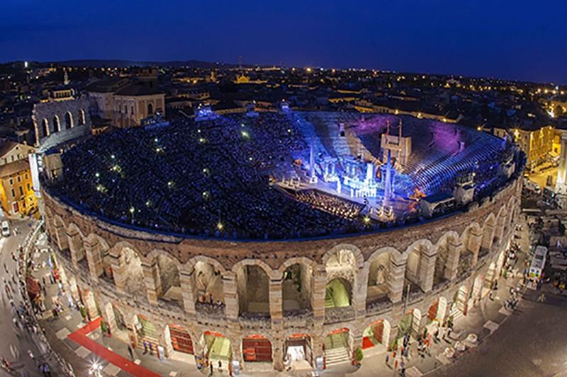 Concert Verona si Florenta Andrea Bocelli & Friends