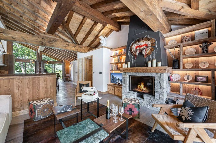 Proprietati autentice in  Courchevel Le Praz