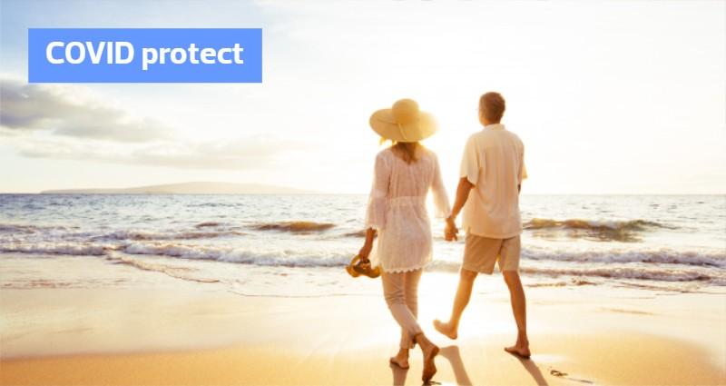 Acum poti calatori fara griji cu asigurarea TUI COVID Protect inclusa in pretul vacantei!